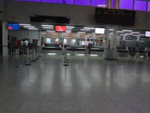 Roatan Airport - Code RTB (coincidence?)