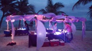 Welcome Party on the Beach