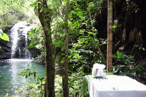 Private and custom guided tours with waterfalls with travel agent romantictravelbelize.com
