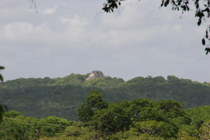 Mayan Temple private custom tour with travel agent romantictravelbelize.com