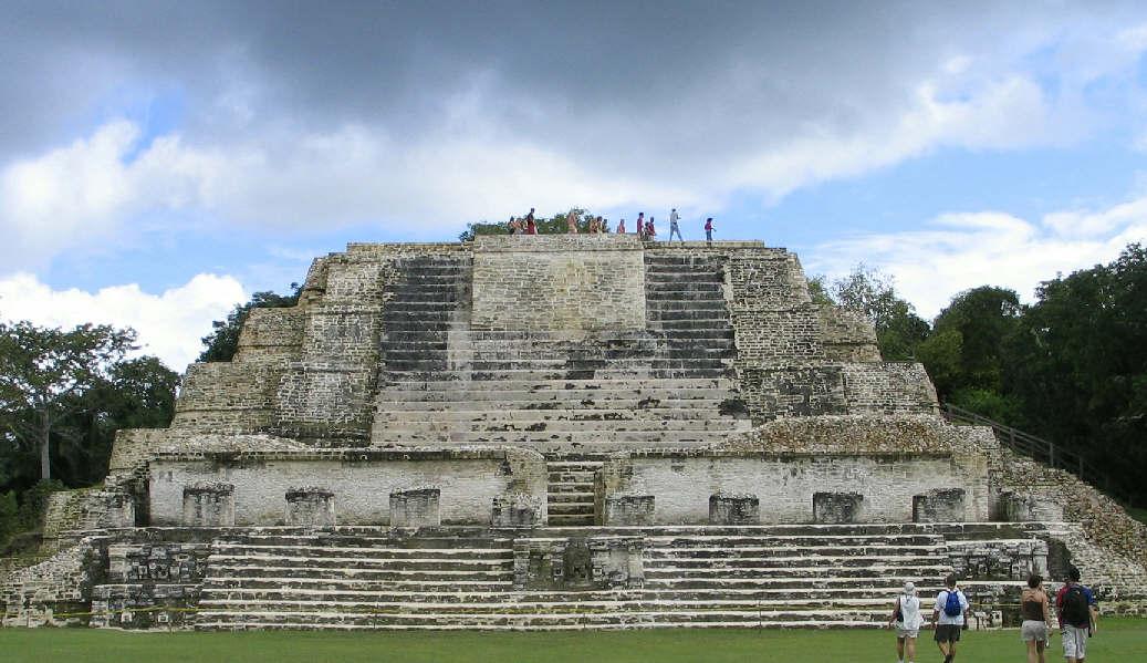 Altun Ha Maya Ruin in Belize
