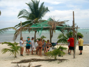 Belize Beach BBQ with romantictravelbelize.com