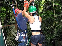 Belize Jungle Zip Line